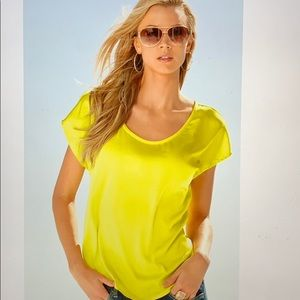 NWT Boston proper scoop neck luxe tee
